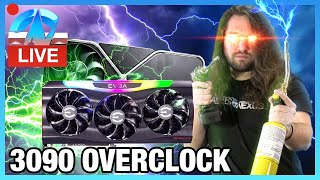LIVE: RTX 3090 Overclocking (Air & Liquid Nitrogen)