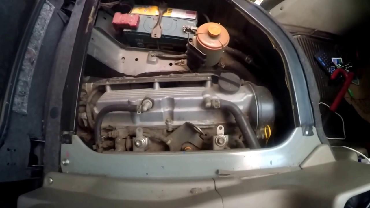 Suzuki Ga Ga Engine View