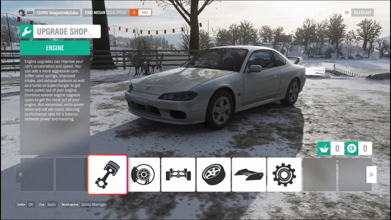 Forza Horizon 4 - 2000 Nissan Silvia Spec-R (S15) - Customize Options