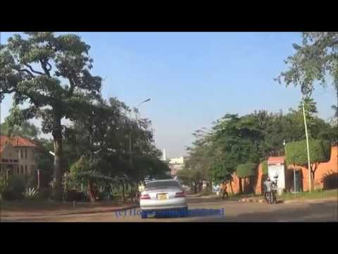 Kampala City drive - Spear house through Nakasero to Bombo Rd
