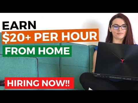 EARN $200+ PER DAY - Legitimate Work from Home Jobs that are Hiring NOW