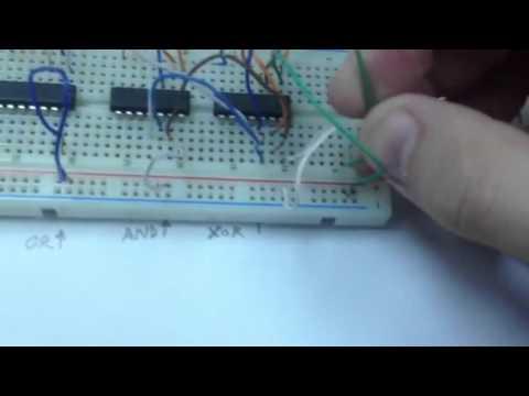 2-Bit Binary Adder - YouTube