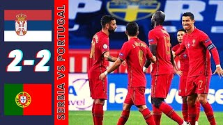 Result and Review Serbia vs Portugal | Europe World Cup Qualification