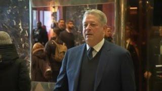 Donald Trump, Ivanka Meet With Al Gore