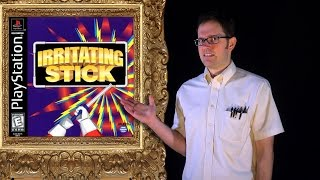 AVGN: Bad Game Cover Art #13 - Irritating Stick (PS1)