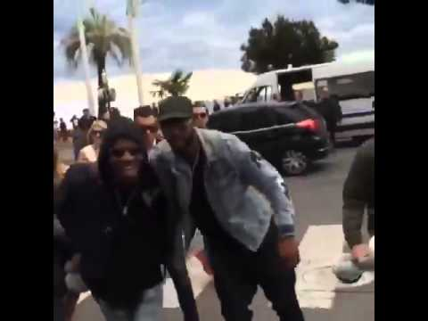 Chris Brown In Cannes, France Today! - May 21st