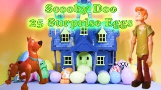Repeat youtube video SCOOBY DOO The Scooby Doo Spooky Surprise Eggs a Scooby Doo Surprise Egg Toys  Video