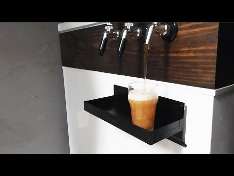 AWESOME Homemade Kegerator and Home Brewing Setup