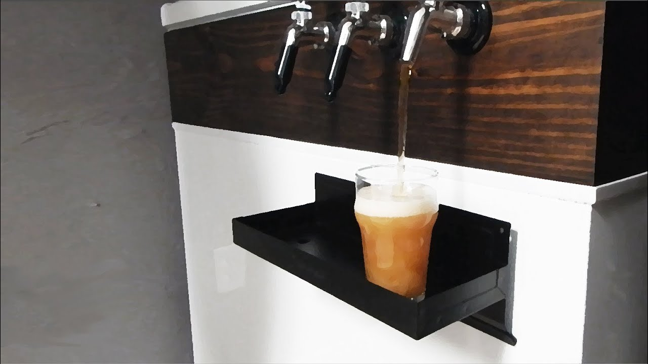Awesome Homemade Kegerator And Home Brewing Setup Youtube