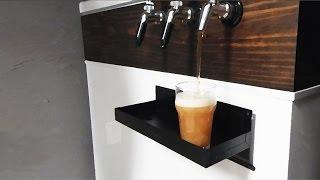 AWESOME Homemade Kegerator and Home Brewing Setup