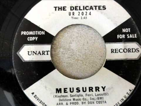 MEUSURRY  by The Delicates