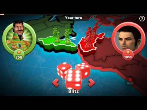 Risk global domination BIGGEST ATTACK EVER(fixed)