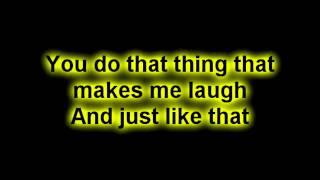 SugarLand - Stuck Like Glue Lyrics