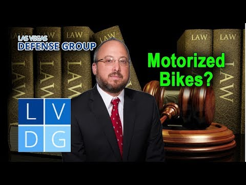 Motorized Bicycles in Nevada – Are there special rules and regulations?