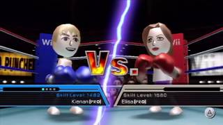Poofesure hating on ELISA wii sports raging and funny moments
