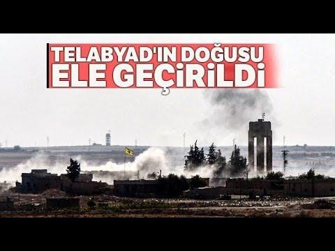 Barış Pınarı Harekatı'nda Milli Suriye Ordusu Telabyad'ı Kuşattı, Doğusunu Ele Geçirdi