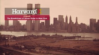 The Breakdown of Urban Order in New York