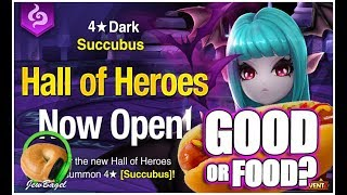 SUMMONERS WAR : Isael the Dark Succubus Hall of Heroes - Good or Food?