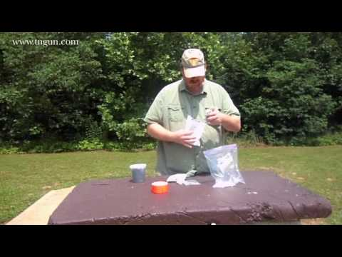 Cold Pack Homemade Tannerite