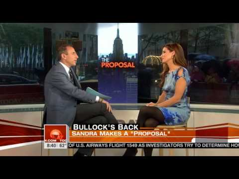 Matt Lauer's Sandra Bullock interview flashback: 'I've seen you naked'