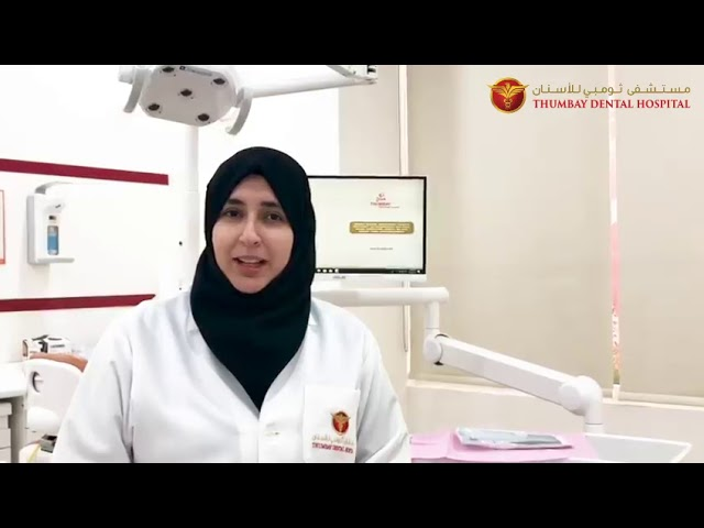 Dr. Sabreen - Thumbay Dental Hospital