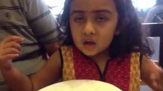 Cute little Indian girl advises all ladies about Shopping Clothes