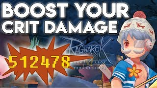 500K CRIT DAMAGE ADL SNIPER, HOW TO REACH? - RAGNAROK MOBILE SEA