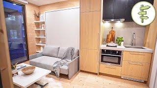 Modern Prefab Tiny House Makes a Quick & Easy Dwelling Alternative - FULL TOUR