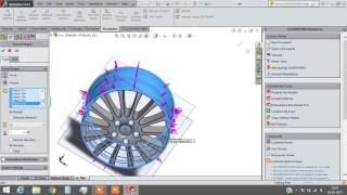 Finite Element Analysis of Rim in Solid Works {Demo}