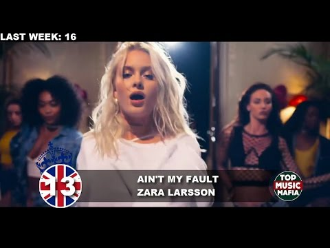 Top 40 Songs of The Week - October 22, 2016 (UK BBC CHART)