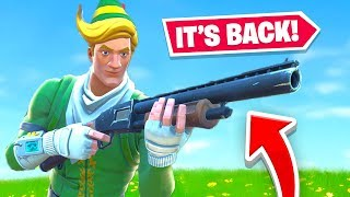 Fortnite Brought the PUMP Shotgun BACK!