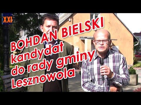 Bohdan Bielski - kandydat do Rady Gminy Lesznowola