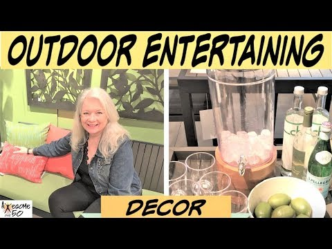Backyard, Patio & Deck Entertaining, Decor, Outdoor Furniture & Dining Ideas & Tips, Awesome over 50