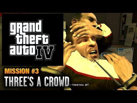 GTA 4 - Mission #3 - Three's A Crowd