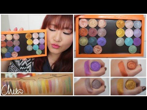 ♡ 試色 ♡ Makeup Geek金屬眼影全20色 ♡ Makeup Geek Foiled Eye Shadow Swatches【Chiao】 thumbnail