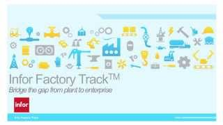 Infor Factory Track Overview