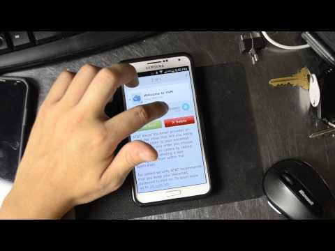 Setup AT&T Visual Voicemail On The Samsung Galaxy Note 3