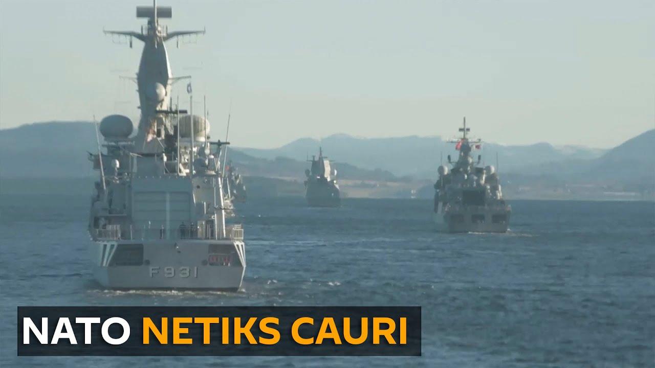 NATO mācības Baltops 2020: Baltijas flote Krievijas robežu sardzē