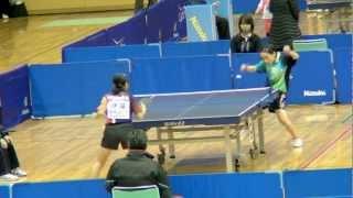 JOC ジュニアオリンピックカップ 2012 平成 24 年度全日本卓球選手権大会(カデットの...