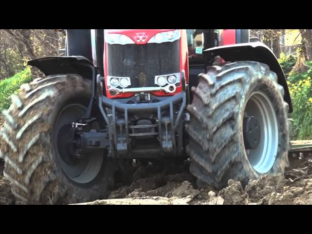 BKT AGRIMAX FORTIS during harrowing