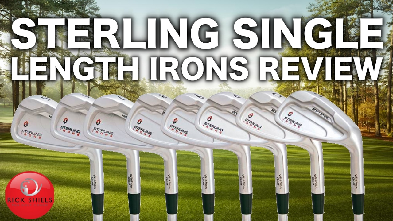 1f3e2349576 STERLING SINGLE LENGTH IRONS REVIEW - YouTube