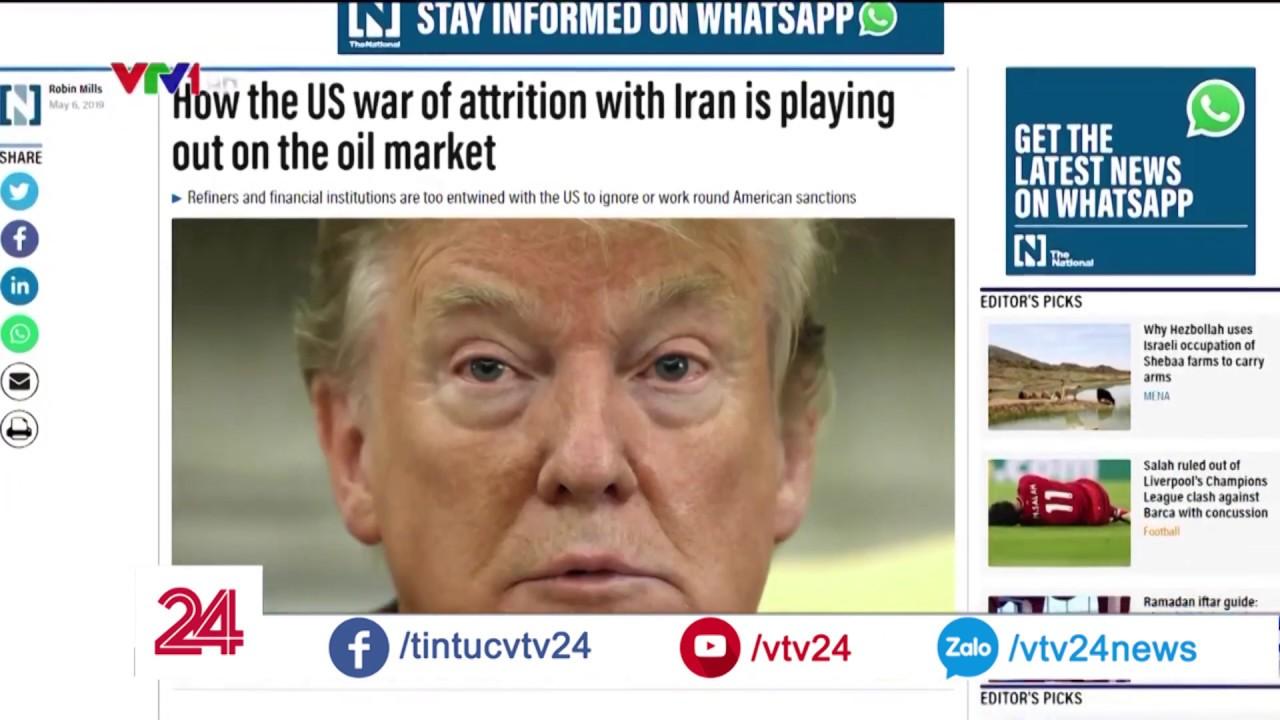 """Mỹ ép OPEC, Iran tuồn dầu """"cửa sau"""" và tất cả cùng bối rối   VTV24"""