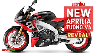 NEW Aprilia Tuono V4 QUICK REVEAL! | Aprilia Motorcycle News