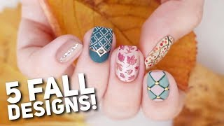 5 Matte Nail Art Designs For FALL! 🍂