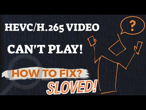 HOW TO FIX HEVC FILES!!! CONVERT HEVC TO MP4!!! PROBLEM SOLVED!!!