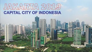 Jakarta Capital City Of Indonesia 2019, Drone Footage by Dji Mavic 2 Pro