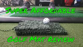 Super Affordable Pocket Sized Golf Mat Review