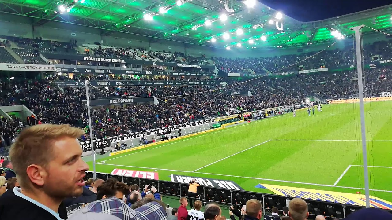 Mannschaftsaufstellung Borussia Mönchengladbach