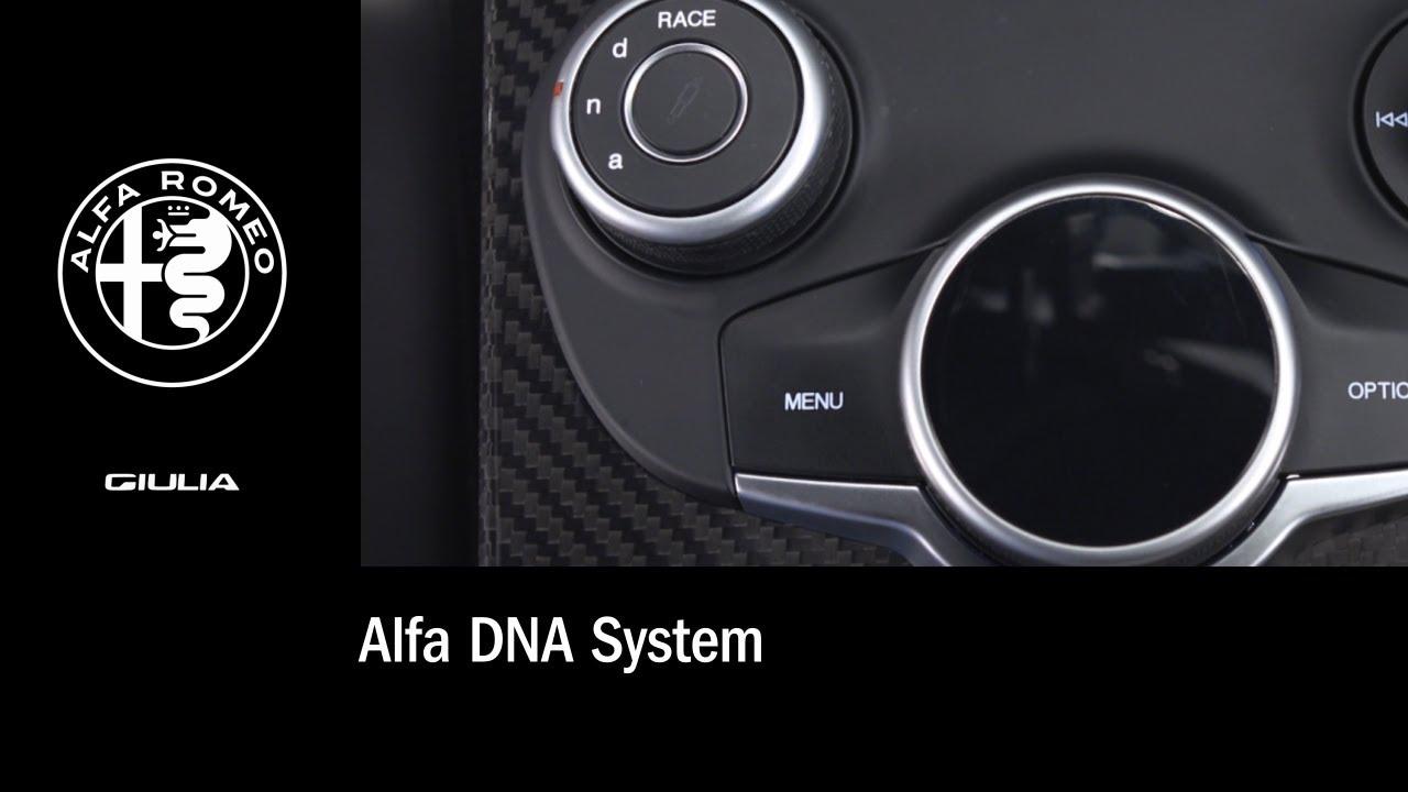 alfa romeo dna systeem