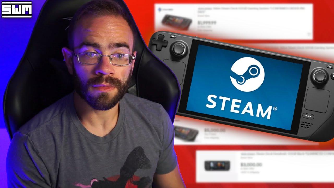eBay Responds To Steam Deck Scalpers...